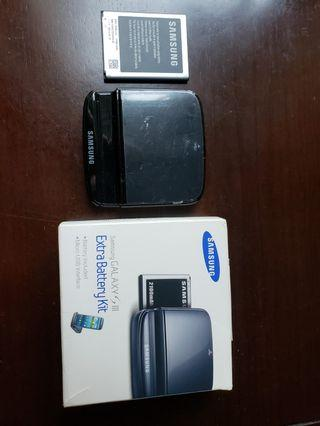 Samsung Galaxy SIII Extra Battery Kit with Battery