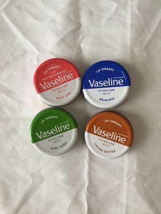 Vaseline petroleum jelly lip theraphy