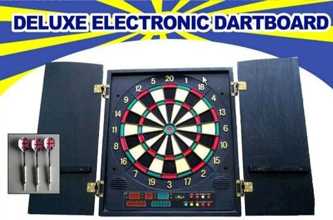 Deluxe EDart Board Brand New