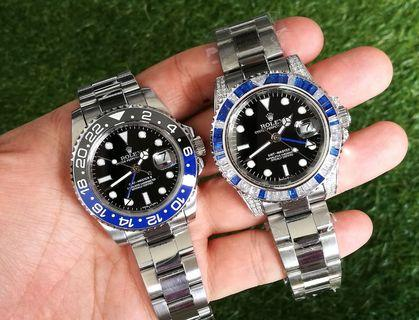 Rolex GMT Master Diamonds