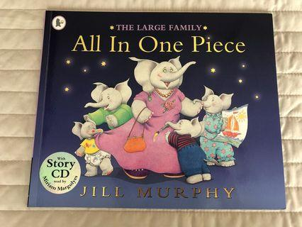 Children book with CD