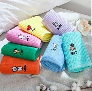 BT21 × NonNo Towel