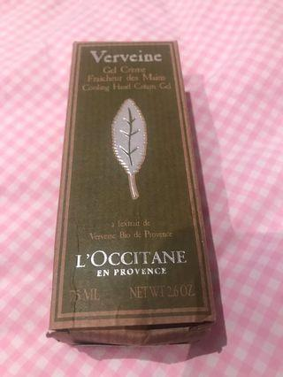 L'occitane Verbena cooling hand gel cream