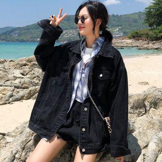 CD2363 (全新) 女裝 牛仔外套 寬鬆夾克上衣潮