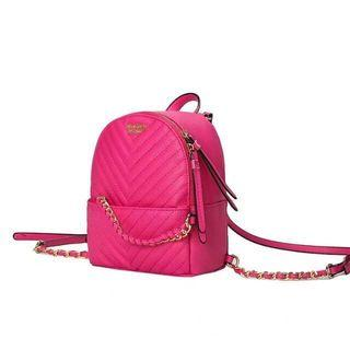 VS  MINI WAVY QUILTED BACKPACK