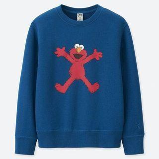 Uniqlo - Elmo sweater ~ unisex age 4-6