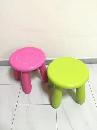 Ikea Stools / Small chairs