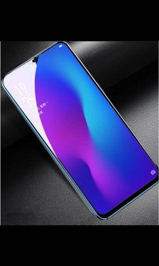 三星A90贴膜全屏覆盖钢化玻璃膜A90手机護眼藍光A90防爆玻璃貼