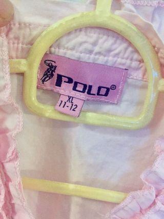 Polo Pink Blouse