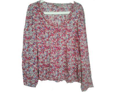 #mauvivo No Brand - Flower Blouse (Big Size)