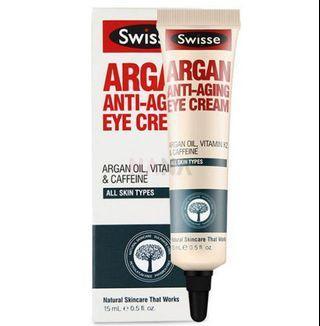Swisse argan anti aging eye cream
