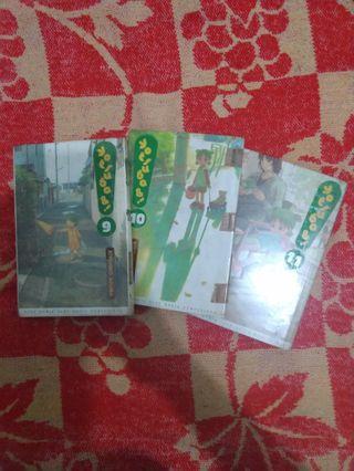 #mauvivo komik yotsuba&! Volume 9, 10, 11