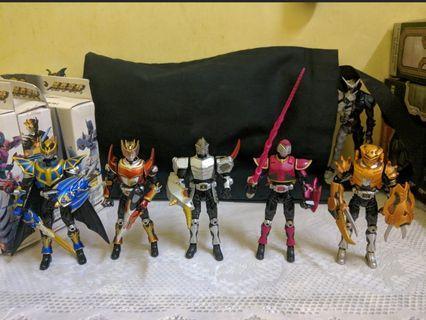 Kamen Masked Rider Gai Raia Scissors Ryuki Knight SHS
