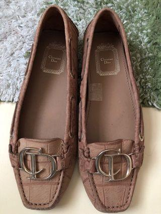 🚚 Prelove Dior Brown shoes (good as new)