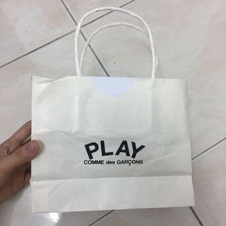 CDG Paper Bag