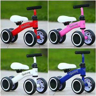 Three Wheel Children Balance Bikes Scooter (Blue, Pink, Red, White)