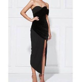 MISHA Collection black dress