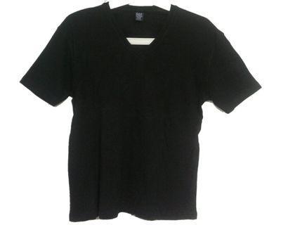 #mauvivo Gap - Black Vneck Tshirt
