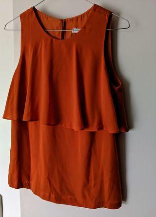 Mango blouse top