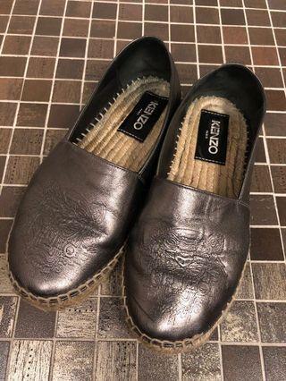 Kenzo 草編鞋