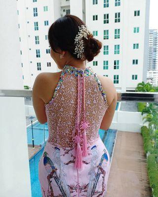 Sewa or rental Cheongsam / qipao / wedding dress