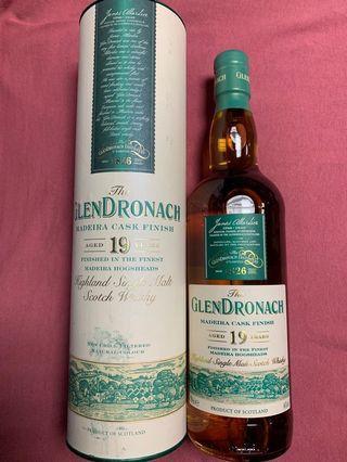 [搬家快放]GlenDronach 19YO Madeira Cask Whisky 威士忌 #MTRmk #MTRkt #MTRssp #MTRtst