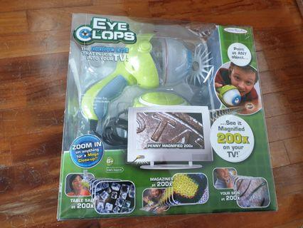 Eye Clops - Electronic Microscope
