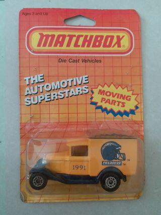 Matchbox LA Chargers Football team truck
