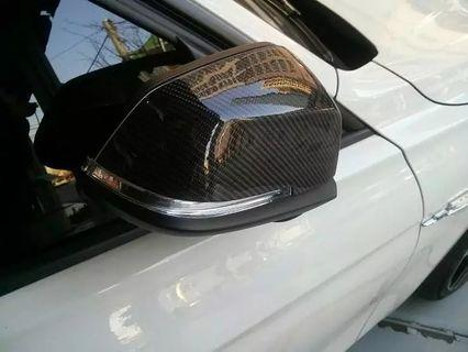 BMW 3 SERIES F30 2011-2015 REAL CARBON FIBRE SIDE WING Mirror Cover