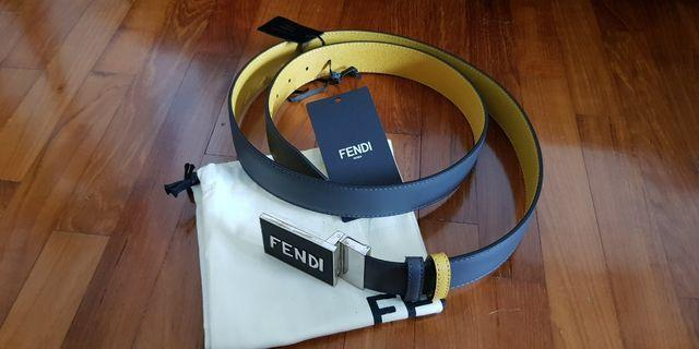 🚚 Fendi Men Reversible Belt