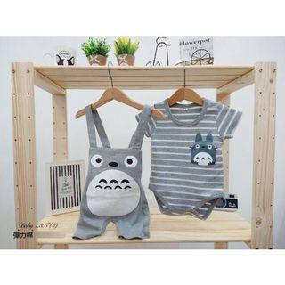Totoro Baby Romper set (Restocked)