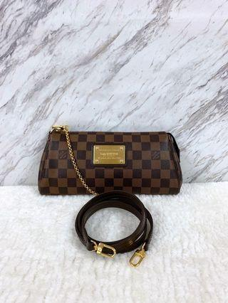 Louis Vuitton Damier Ebene Canvas Eva Bag (AA2142)