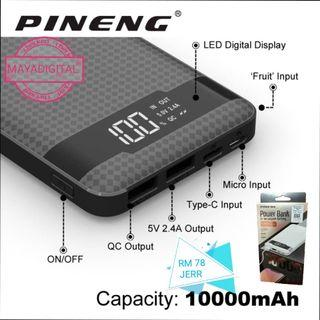 ORIGINAL PINENG POWER BANK Quick charge 3.0