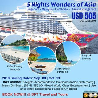 5 Nights Wonders of Asia by Genting Dream Cruise