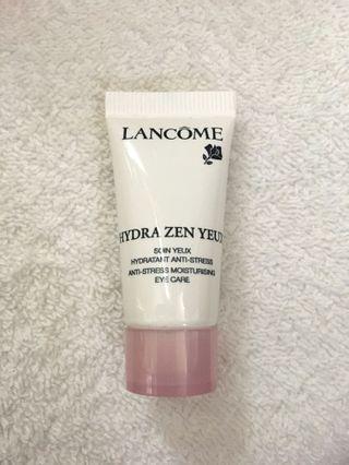 Lancome 舒緩抗壓保濕眼霜 Hydra Zen Yeux Anti-Stress Moisturising Eye Care 5ml samples sample 試用裝 旅行裝