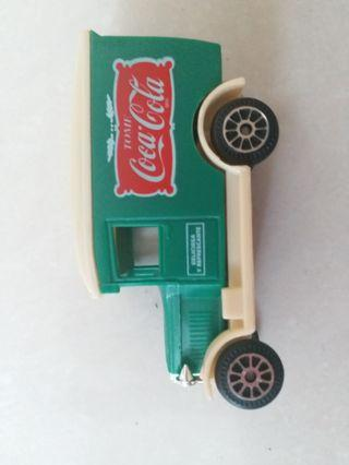 Coke delivery truck