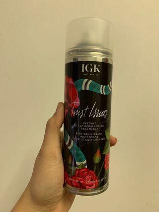 IGK trust issues scalp rebalancing treatment