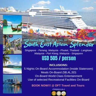 South East Asian Splendor by Genting Dream Cruise