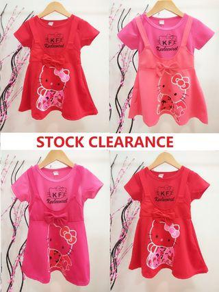 *STOCK CLEARANCE* 2 - 4yrs Girls Dress