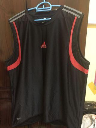 Original Adidas Jersey Sleeveless 2XL