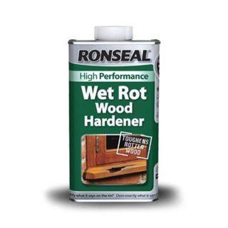 New Ronseal Wet Rot Wood Hardener 250ml