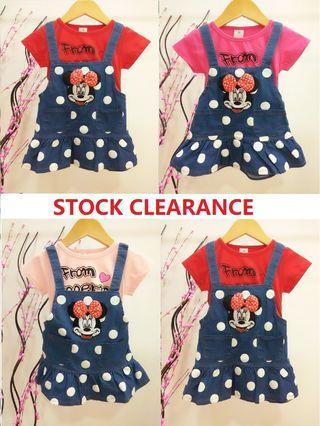*STOCK CLEARANCE* 1-5yrs Girls Dress