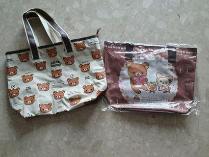 Rilakkuma big Shoulder Bag by San-x