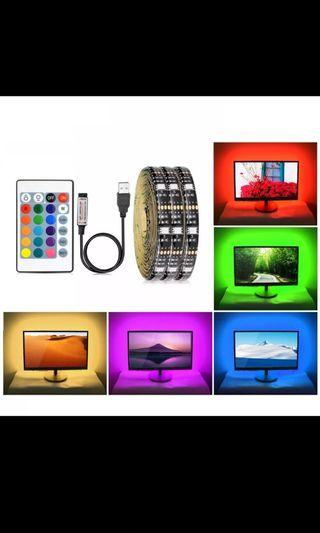 🚚 Led strips RGB type with remote control