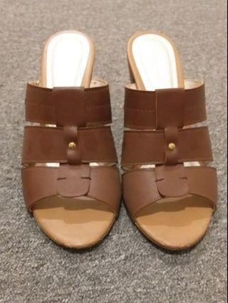 Fleurette Brown Shoes