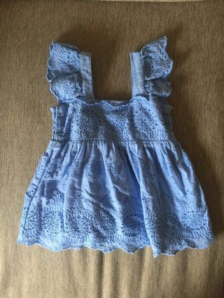 17803ddf59 Mothercare Eyelet Dress   Top