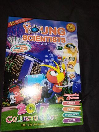 Young Scientists Level 3 - 10 books and paper