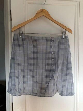 VERGE GIRL CHECKERED SKIRT