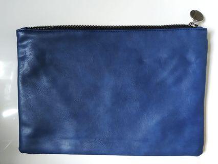 藍色手提包