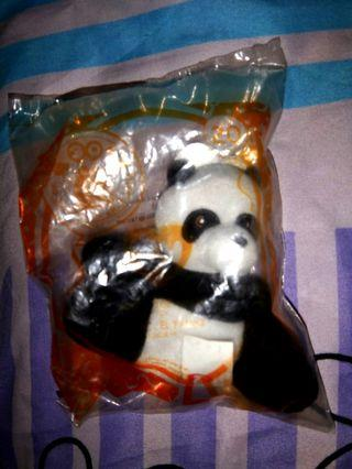 TY panda from McDonald's collectible still in packaging